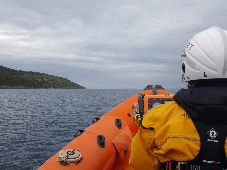 Hellenic rescue team respond to missing person emergency
