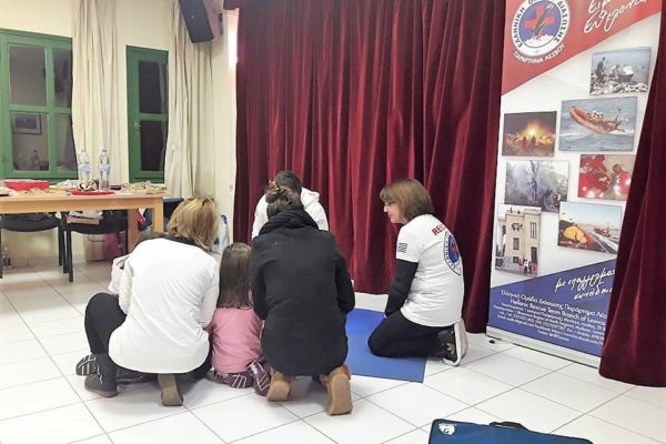 First aid training for Volunteer Blood Donation and Preventive Medicine Association