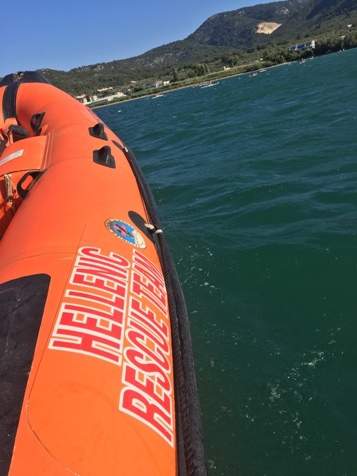 Hellenic rescue team attend the 12th Panhellenic Rowing Rally Development Meeting