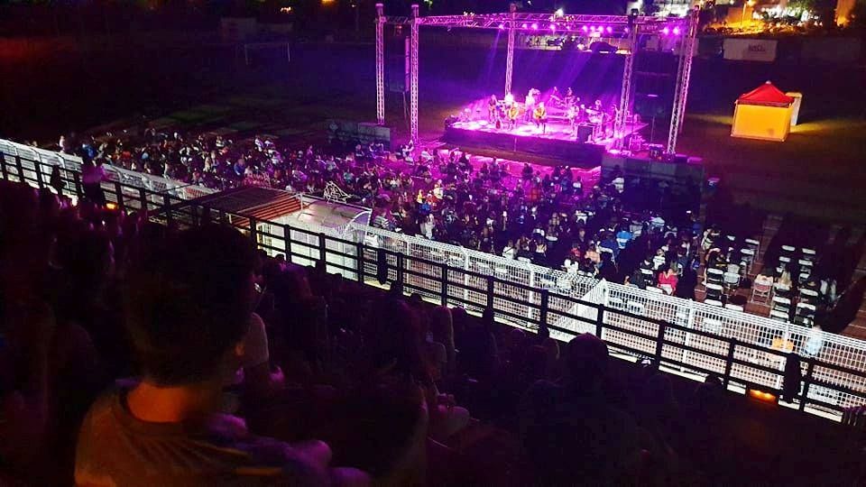 HRT Lesvos attended to Pyx Lax concert