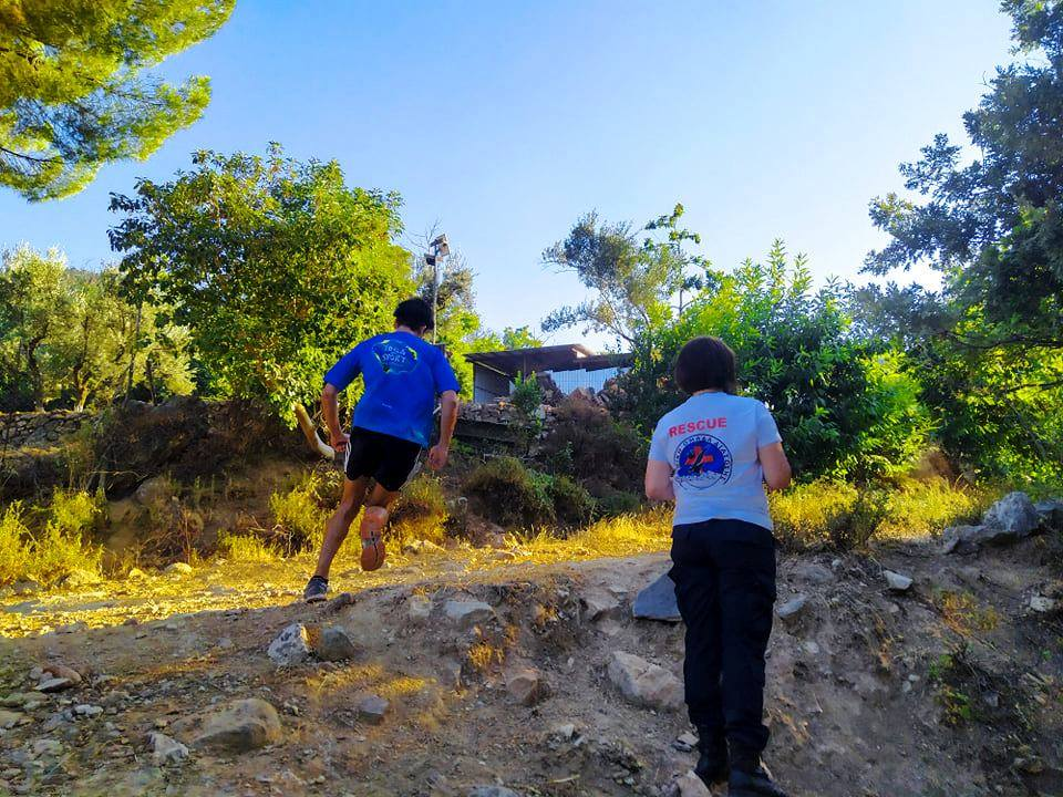 HRT Lesvos cover the second race of the Lesvos Mountain Trail Run 2020 cup