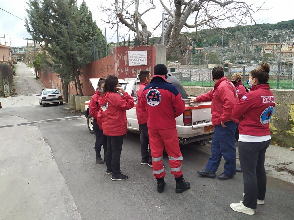 HRT responed on a SAR for a missing person in Agiasos